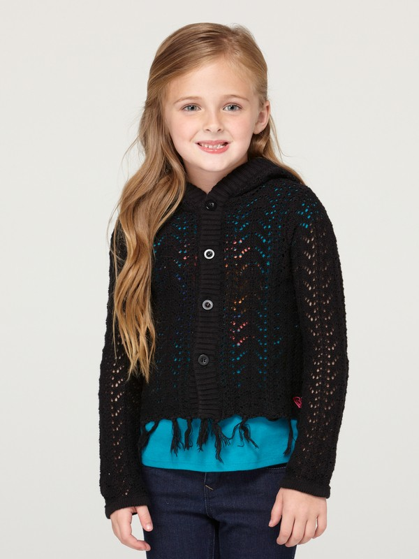 0 Girls 2-6 Sea Shore Cardigan  ARLSW00002 Roxy