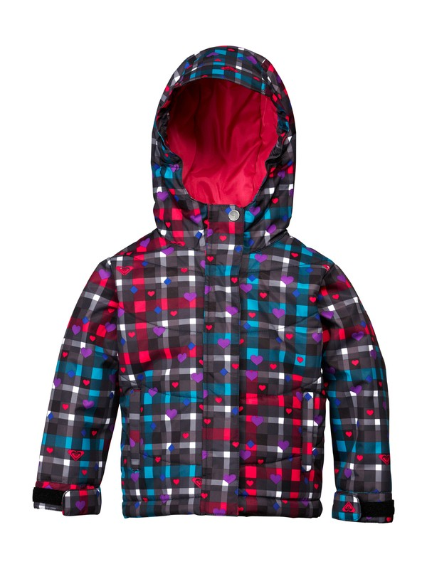 0 Girls 2-6 No Dice Toddler Jacket  ARLTJ00000 Roxy