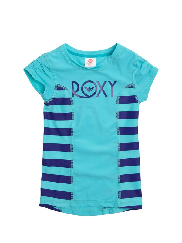 0 Girls 2-6 Doll Face Roxy Escape Rashguard  ARLWR00004 Roxy