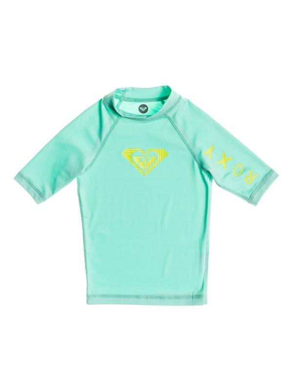 0 Girls 2-6 Roxy Love Short Sleeve Rashguard  ARLWR03015 Roxy