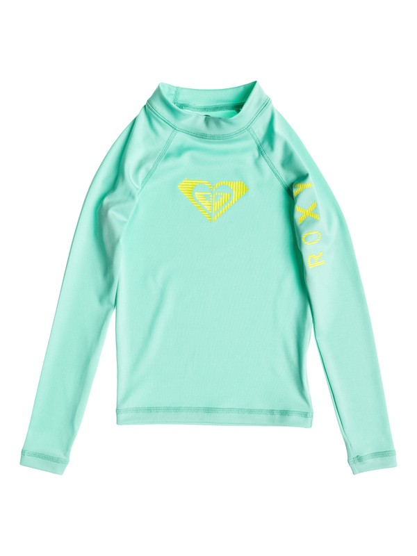 0 Girls 2-6 Roxy Love Long Sleeve Rashguard  ARLWR03016 Roxy