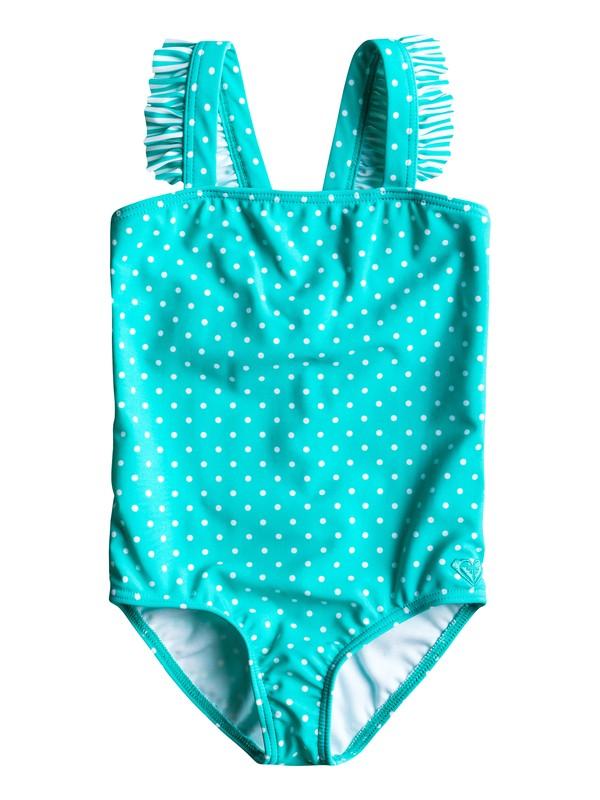 0 Girls 2-6 Doll Face Ruffle One Piece Swimsuit  ARLX100002 Roxy