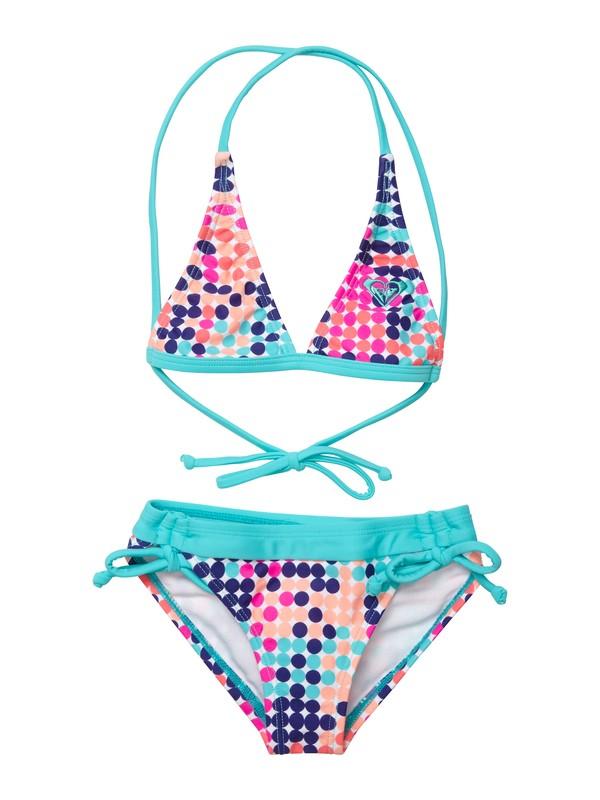 0 Girls 2-6 Peaceful Dreamer Halter Set Swimsuit  ARLX200012 Roxy