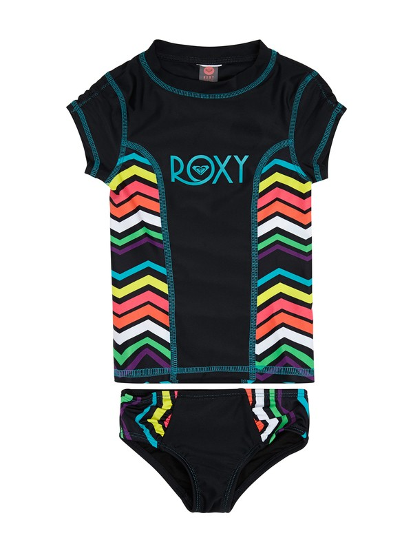 0 WAVE WONDERER SS RASHGUARD SET  ARLX200017 Roxy