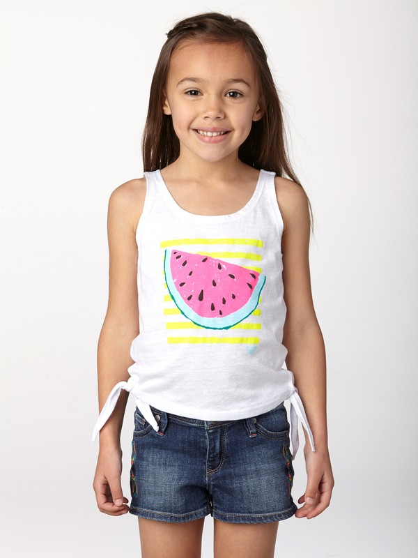 0 Girls 2-6 Summer Fruits Tank  ARLZT00115 Roxy