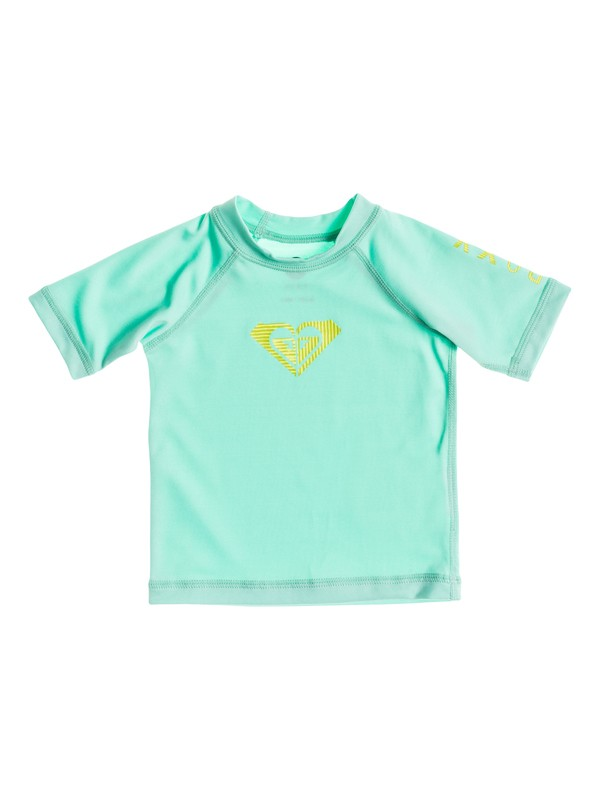0 Baby Roxy Love Short Sleeve Rashguard  ARNWR03000 Roxy