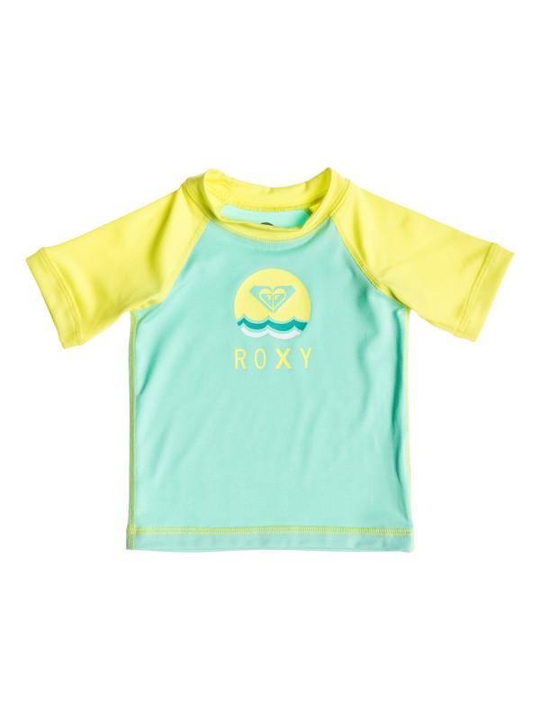 0 Baby Sail Away Short Sleeve Rashguard  ARNWR03002 Roxy