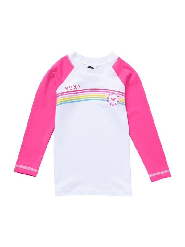 0 Girls 2-6 From above Toddler LS Rashguard  AROWR00003 Roxy