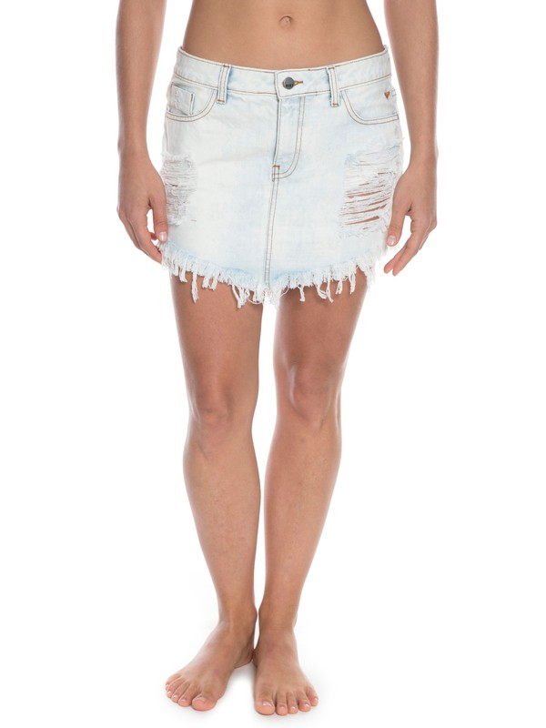 0 Saia Jeans Only One  BR73801232 Roxy