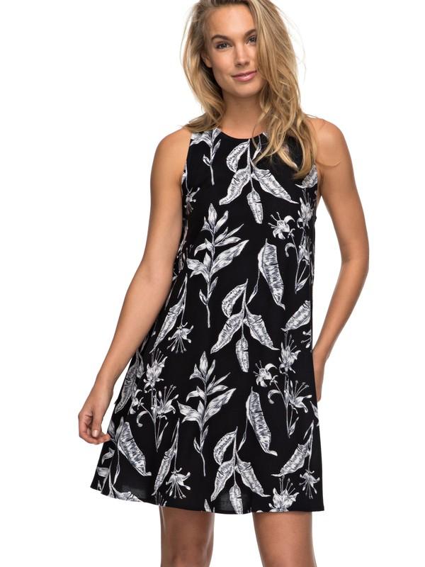 0 Vestido Feminino Curto Estampado Roxy  BR73811515 Roxy