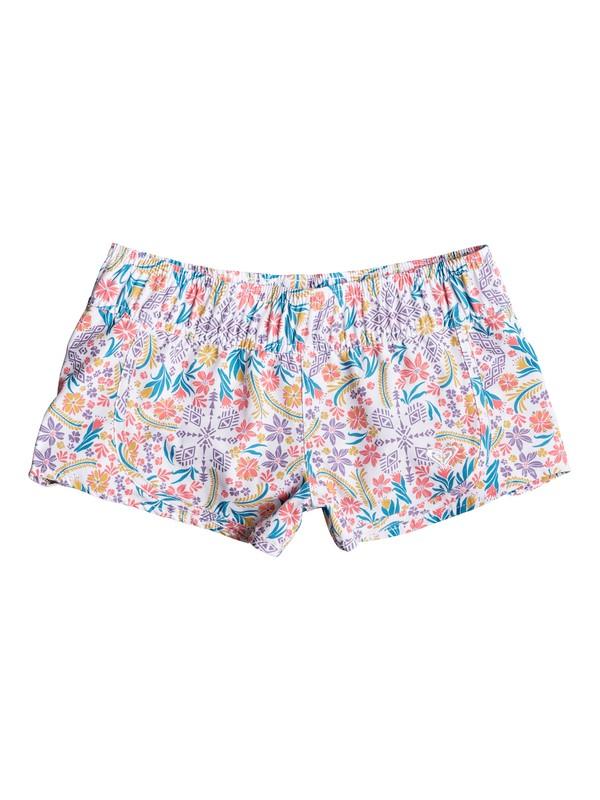 0 Girls 7-14 Essentials Boardshorts White ERGBS03033 Roxy