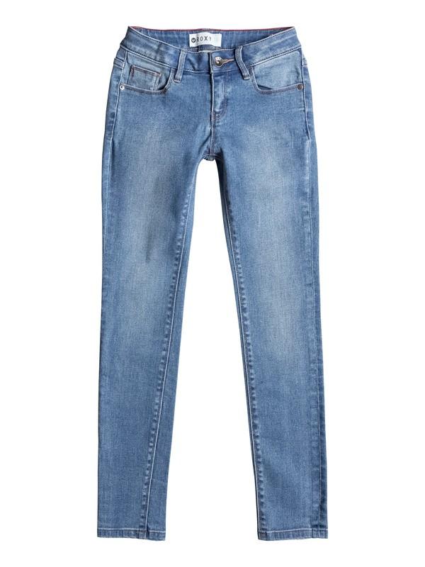 0 Step With Me - Jean slim Bleu ERGDP03019 Roxy
