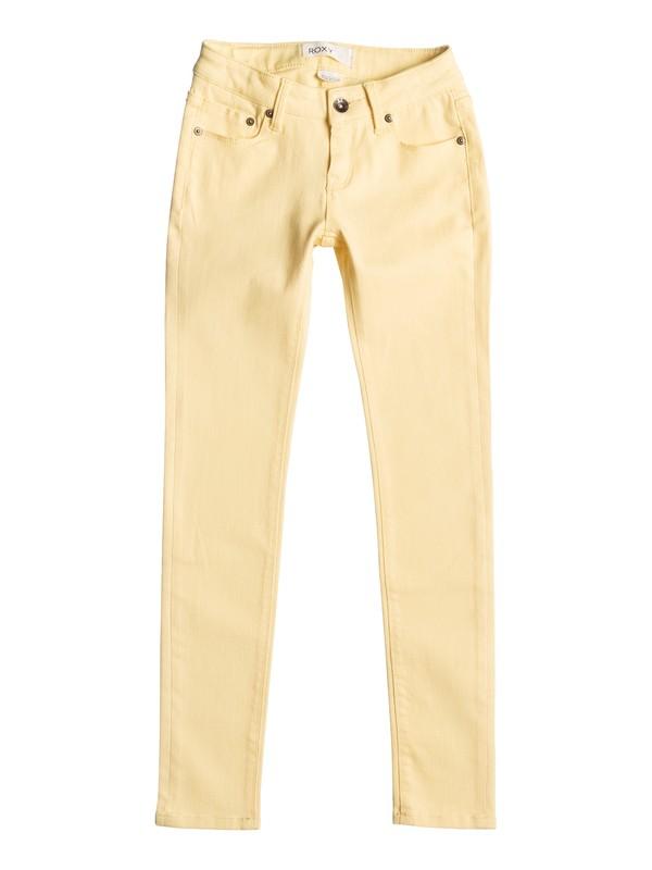0 Desert Jean - Vaqueros de corte estrecho Amarillo ERGDP03022 Roxy
