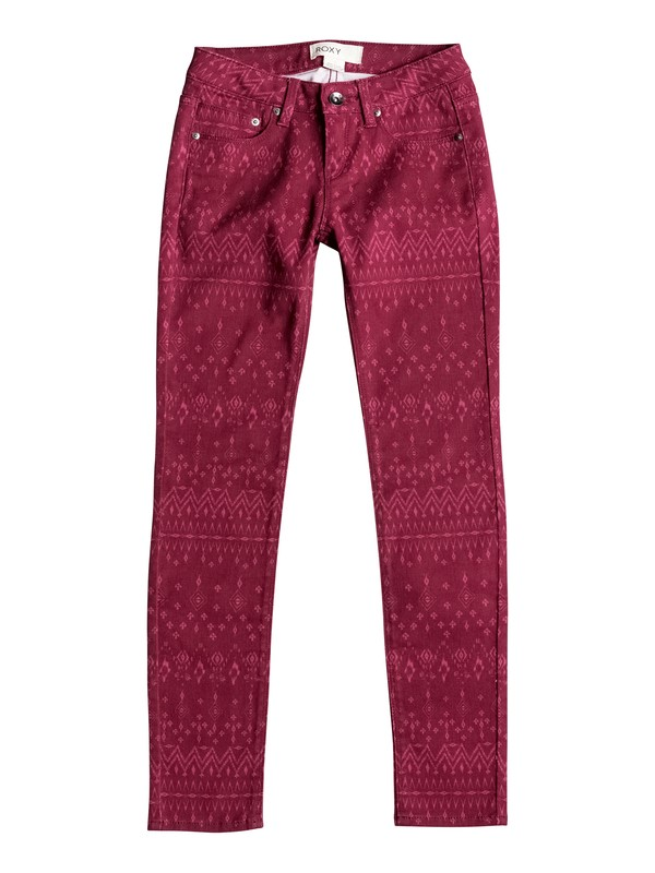 0 Sea Horse - Slim Fit Jeans Red ERGDP03026 Roxy