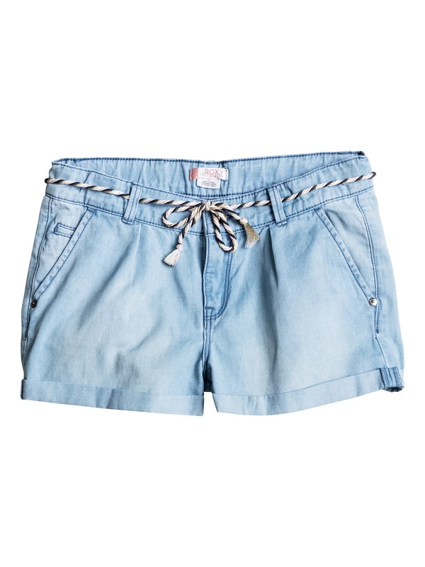 0 Girls 7-14 Just A Habit Denim Shorts  ERGDS03023 Roxy