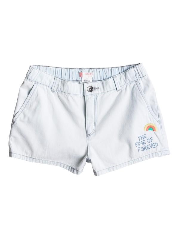 0 Girls 7-14 West Coast And U Denim Shorts  ERGDS03026 Roxy