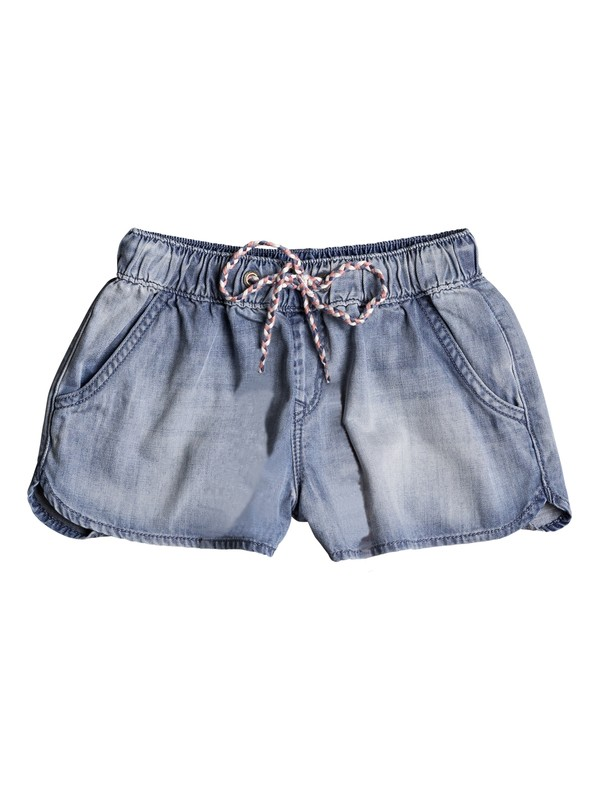0 Music Never Stops - Beachshort en denim Bleu ERGDS03035 Roxy