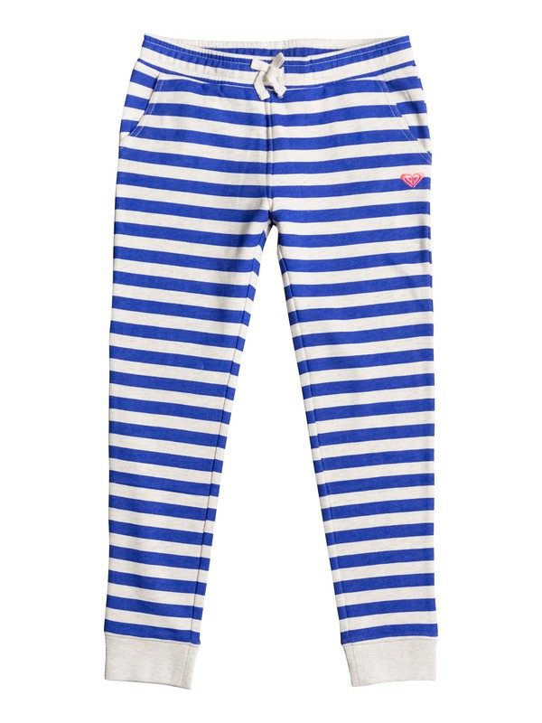 0 Girls 7-14 Downtown Mission Stripe Sweatpants  ERGFB03036 Roxy