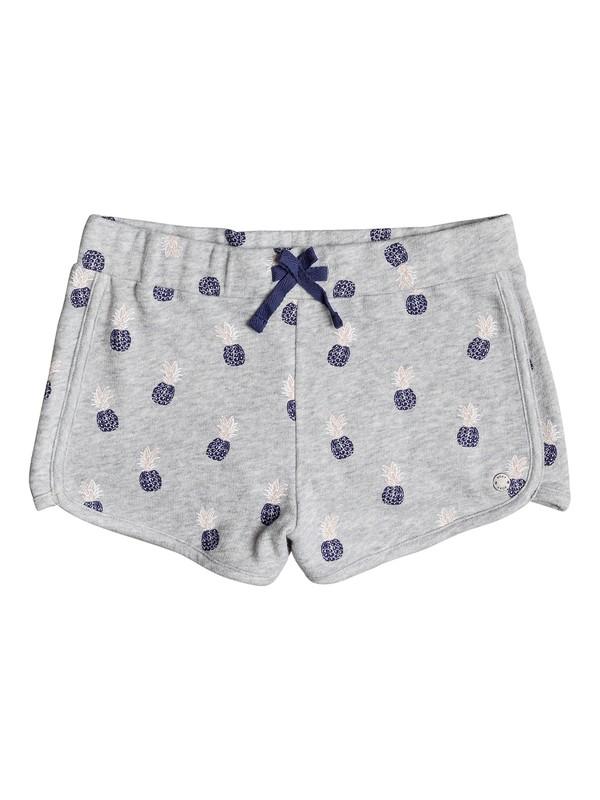 0 Water Falls - Sweat Shorts Grey ERGFB03065 Roxy
