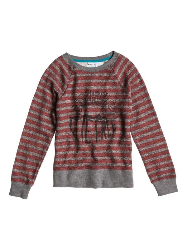 0 Girls 7-14 Believe Printed A Sweater  ERGFT03001 Roxy