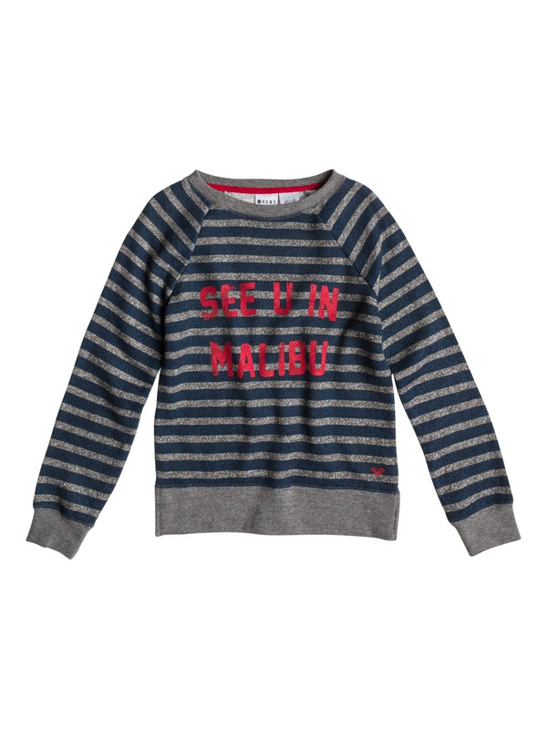 0 Girls 7-14 Believe Printed B Sweater Blue ERGFT03029 Roxy