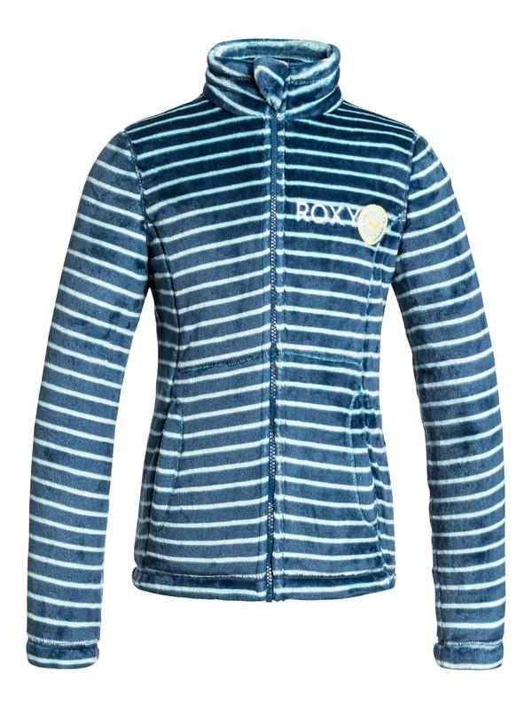 0 Girl's 7-14 Igloo Zip-Up Fleece  ERGFT03084 Roxy