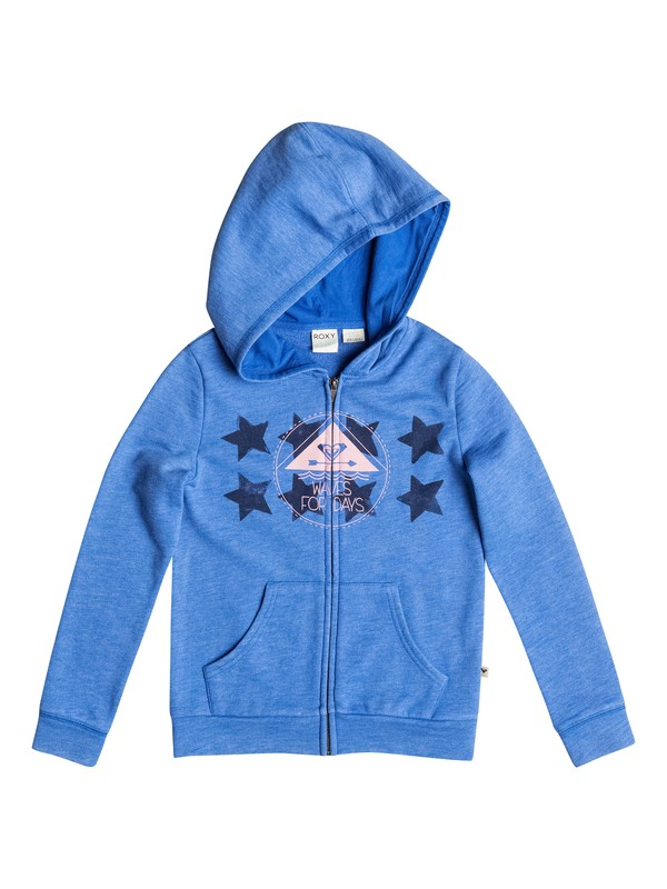 0 Good Morning Rebel Star - Sudadera con capucha y cremallera  ERGFT03139 Roxy
