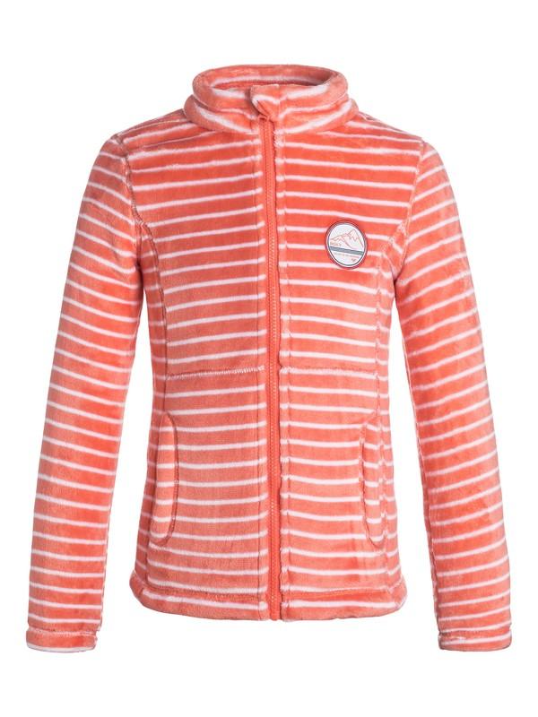 0 Girls 7-14 Igloo Zip Fleece  ERGFT03140 Roxy