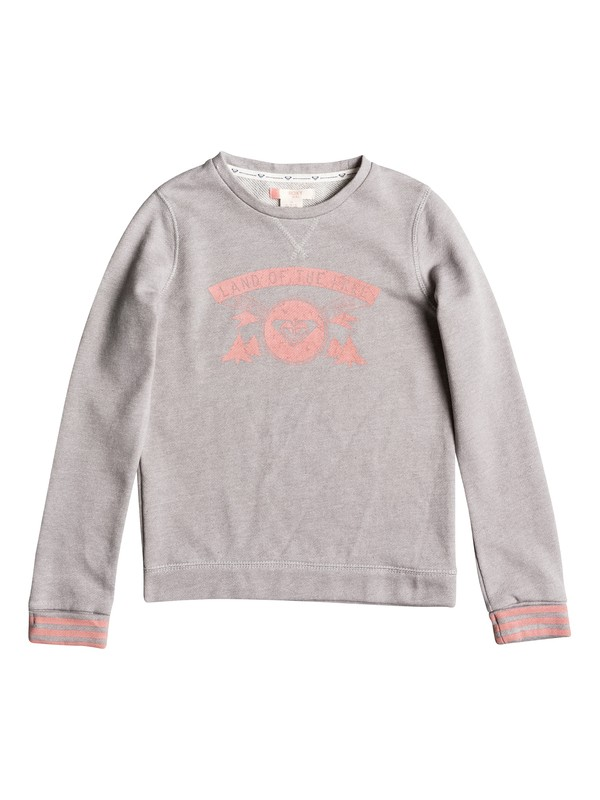 0 Under The Boardwalk B - Sweat Gris ERGFT03156 Roxy