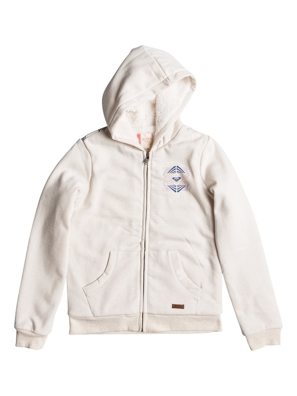 0 Wild Nothing B - Zip-Up Hoodie Beige ERGFT03162 Roxy