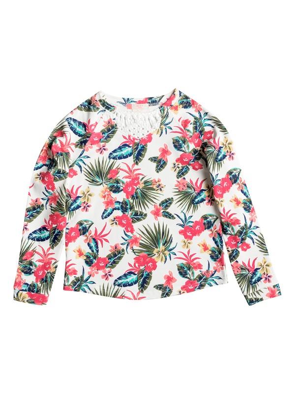 0 Girls 7-14 Marquise Of Waves Macrame  Pullover Sweatshirt  ERGFT03182 Roxy