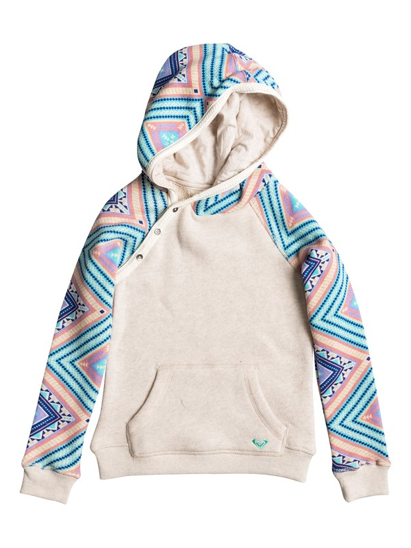 0 Girls 7-14 Close To You Free Spirit Pullover Hoodie  ERGFT03202 Roxy