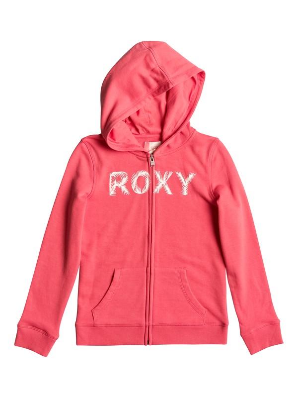 0 Girls 7-14 Luck Is Luck Zip Up Hoodie  ERGFT03205 Roxy