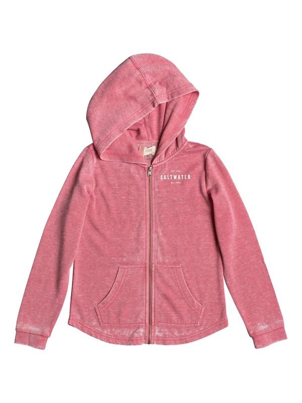 0 Teasing You Salt Water - Zip-Up Hoodie Pink ERGFT03259 Roxy