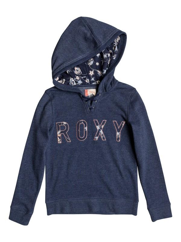 0 Hope You Know B - Zip-Up Hoodie Blue ERGFT03265 Roxy