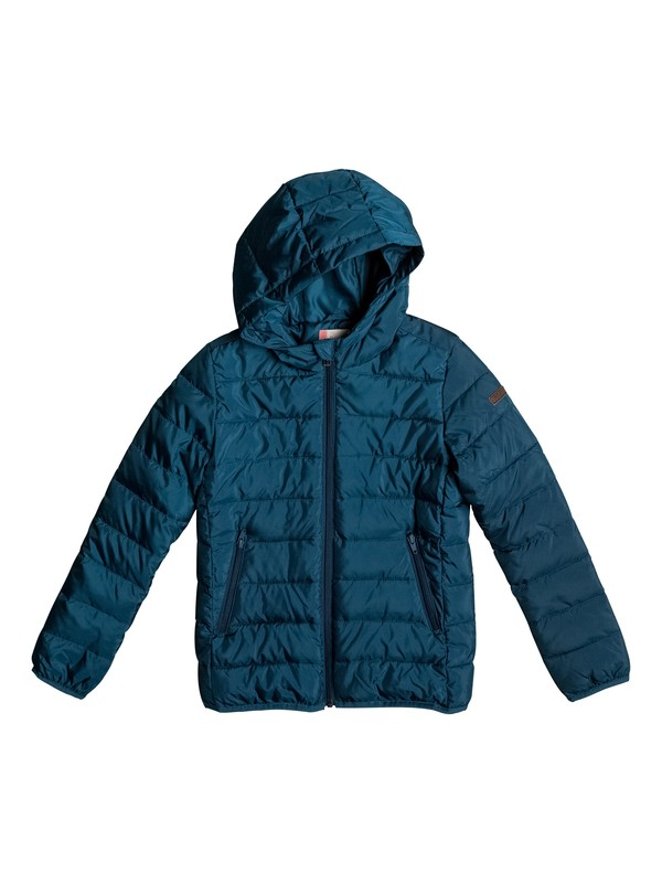 0 Question Reason - Puffer Jacket Blue ERGJK03027 Roxy