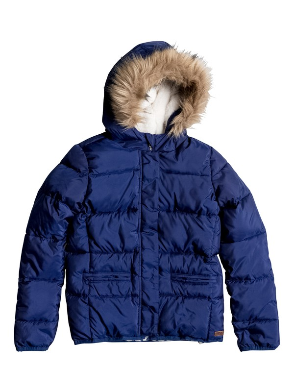 0 Harvest Moon - Quilted Puffer Jacket  ERGJK03028 Roxy