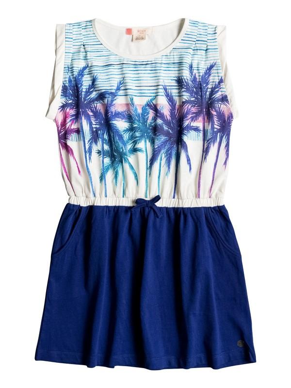 0 Girls 7-14 Presidio Palm Tank Dress  ERGKD03023 Roxy