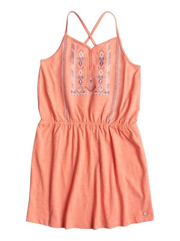 0 Girls 7-14 N'Ice Cream Strappy Dress Pink ERGKD03036 Roxy