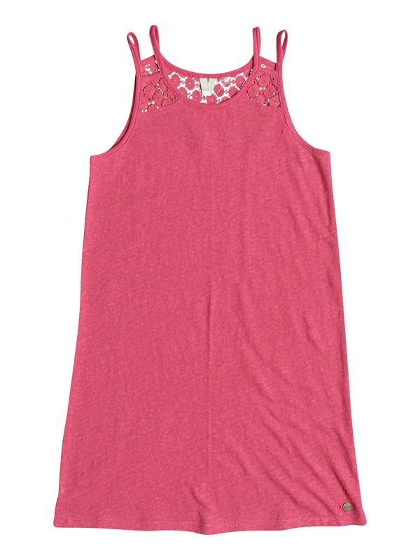0 Bright New Day - Riemchenkleid Rosa ERGKD03054 Roxy
