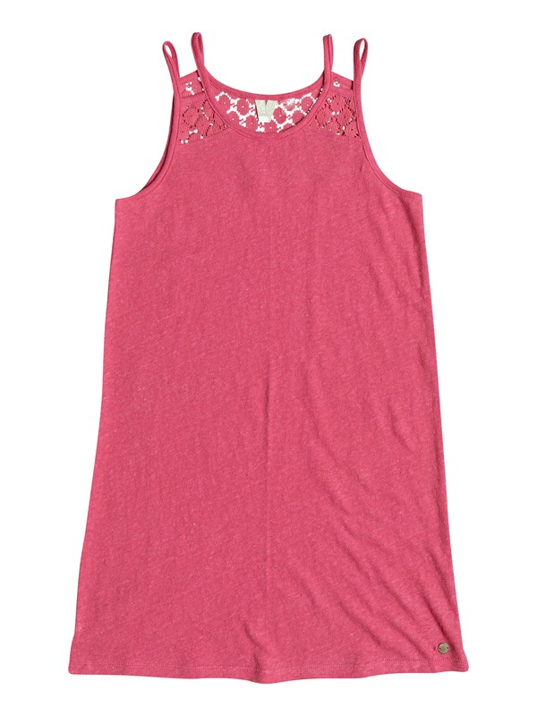 0 Bright New Day - Vestido de Tirantes Rosa ERGKD03054 Roxy