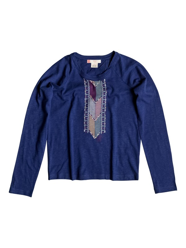 0 After Glow - Longsleeve Blau ERGKT03029 Roxy