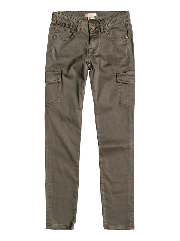 0 Time To Know - Cargo Pants Green ERGNP03020 Roxy