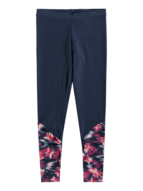0 Tropi Sporty - Surf Leggings Pink ERGNP03029 Roxy