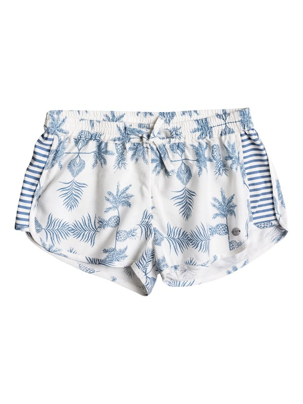 0 Girls 7-14 Eyes Storm Beach Shorts  ERGNS03014 Roxy