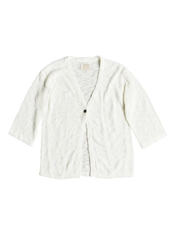 0 Livin Sunday - Cardigan Blanc ERGSW03043 Roxy