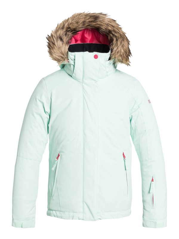 0 Girl's 7-14 American Pie Solid Snow Jacket  ERGTJ03002 Roxy