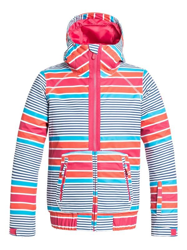 0 Girl's 7-14 Valley Hoodie Snow Jacket  ERGTJ03005 Roxy