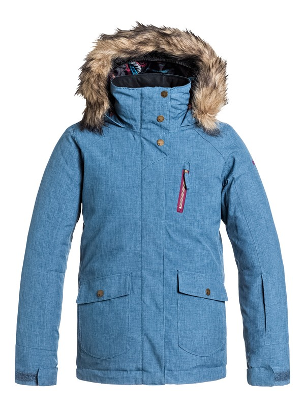 0 Girl's 7-14 Tribe Snow Jacket  ERGTJ03007 Roxy
