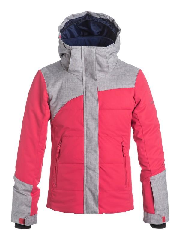 0 Girls 7-14 Flicker Snow Jacket  ERGTJ03013 Roxy